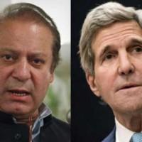 Nawaz Sharif and John Kerry