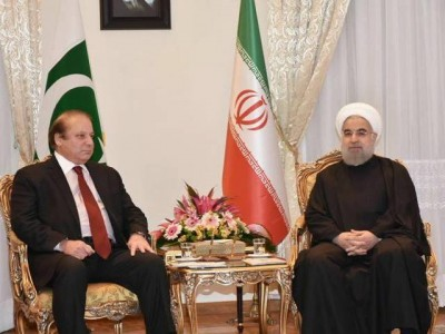 Nawaz and Hassan Rouhani