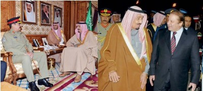 Pakistan and Saudi Arab Meeting
