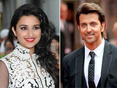 Parineeti Chopra and Hrithik Roshan