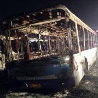Passenger Bus Fire