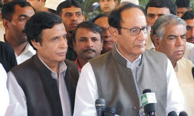 Pervez Elahi and Shujaat