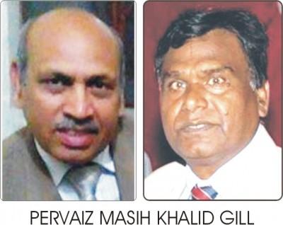 Pervez Masih and  Khalid Gill