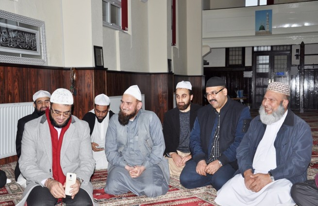 Pir Mohammad Ameen Hasnat Shah Delegates Met in Green Zia Alamh Center Buzly