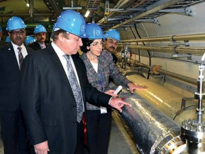 Prime Minister Geneva European Nuclear Research Organization CERN Visit