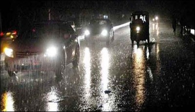 Rain Karachi City