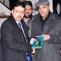 Raja Amjad Khan with Abid Sher Ali
