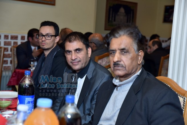 Raja Mohammad Iqbal Honor Dinner