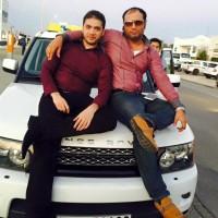 Rana Faisal with Friend