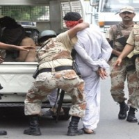 Rangers Arrests Suspects Including
