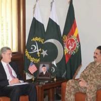 Richard Olson and Raheel Sharif Meeting