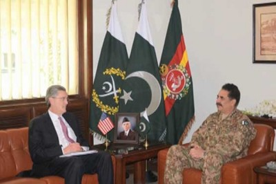 Richard Olson and Raheel Sharif Meeting