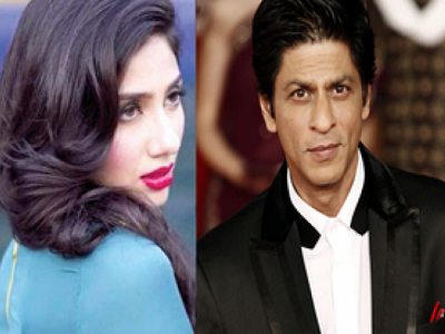 Shah Rukh and Mahira Khan