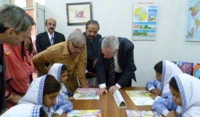 Shahbaz Sharif Visit School