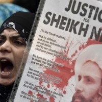 Sheikh Nimr,Death Penalty Protest