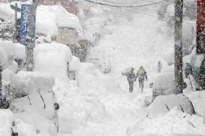 South Korea Snowfall