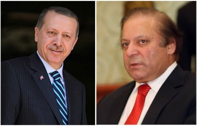 Tayyip Erdogan and Nawaz Sharif