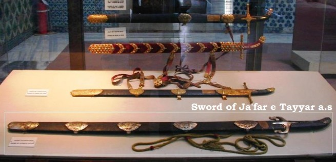 Sword of Jafar e Tayyar a.s