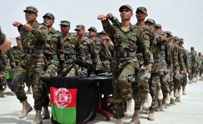 Afghan Cadets Military Training