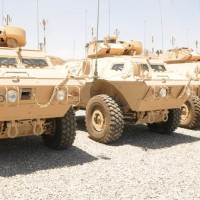 Afghan Forces, Armored Vehicles