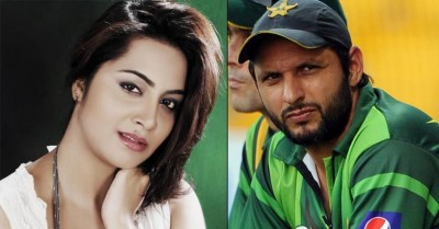 Afridi and Arshi Khan
