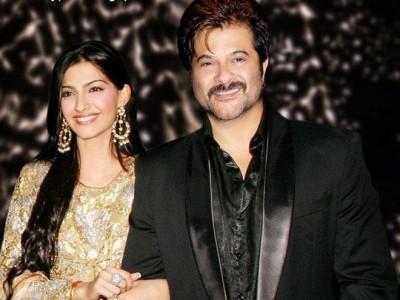 Anil Kapoor and Sonam Kapoor