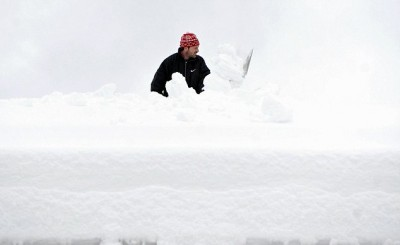 Austria Snow Landslide