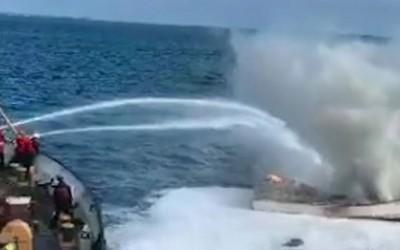 Boat Fire