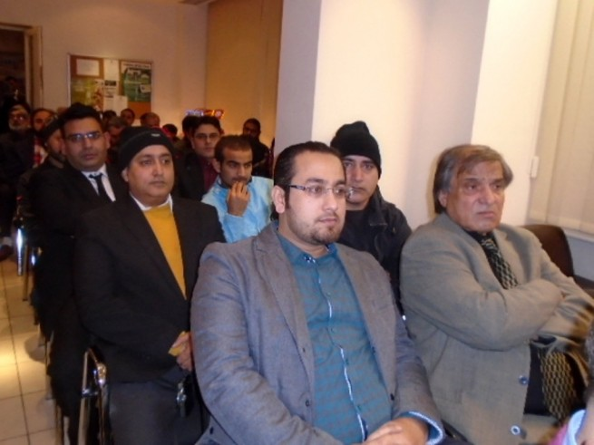 Ceremony Solidarity Day Kashmir