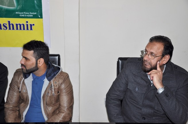 Kashmir Freedom Movement Birmingham United Kingdom Meeting