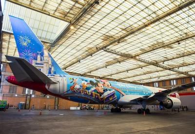 Disney Theme Plane
