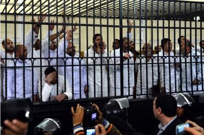 Egypt Sentences Morsi supporters