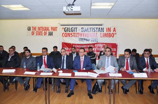 Gillgit Baltistan in a constitutional Limbo UKPNP Conference