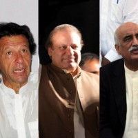 Imran, Nawaz and Khursheed