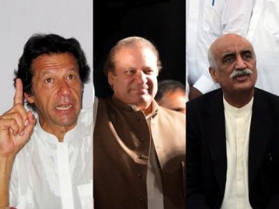 Imran, Nawaz and Khursheed