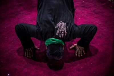 In Prostration