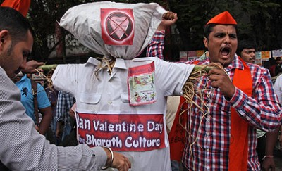 India, Valentine's Day Ban