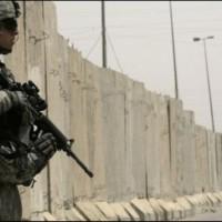 Iraq baghdad wall