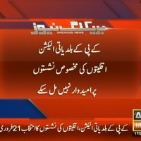KPK Municipal Elections– Breaking News – Geo