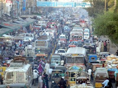 Lahore Traffic Jam