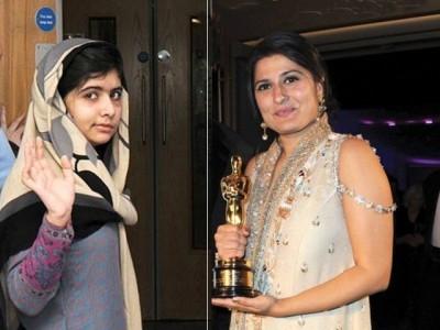 Malala and Sharmeen Obaid Chinoy