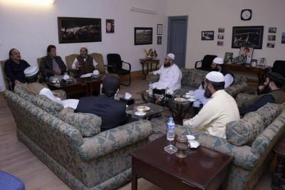 Mufti Mohammad Naeem,Meeting