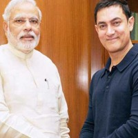 Naredra Modi and Aamir Khan