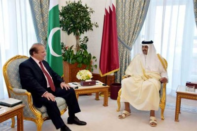 Nawaz Sharif and Sheikh Tamim