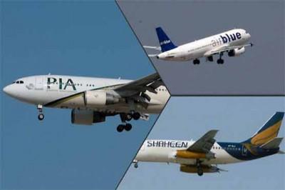 PIA,Shaheen,Air Blue Planes
