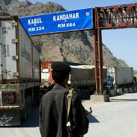 Pakistan and Afghan Border