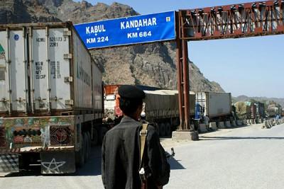 Pakistan and Afghan Border