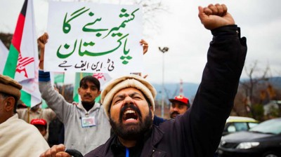 Pakistani People Support kashmir