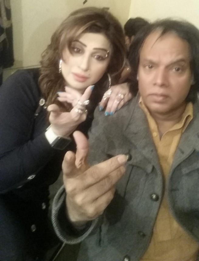 Pervez Khan and Honey Shehzadi