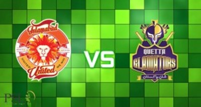Quetta Gladiators and Islamabad United